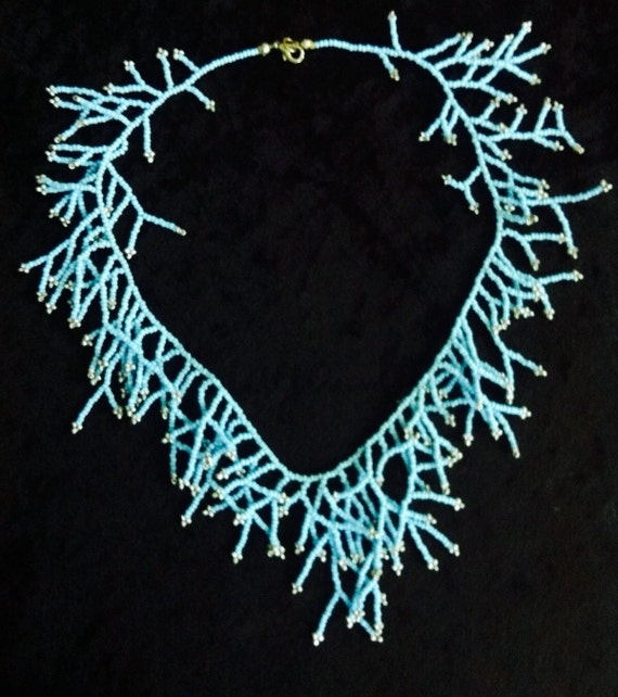 Coral-shaped necklace