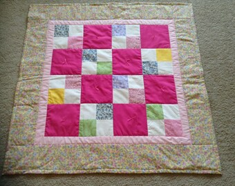 Patchwork Baby Mini Quilt