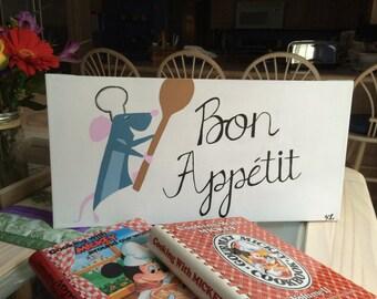 Ratatouille Remy Bon Appetit Canvas
