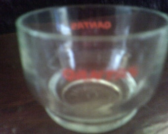 Qantas Glass Ramekin / Bowl