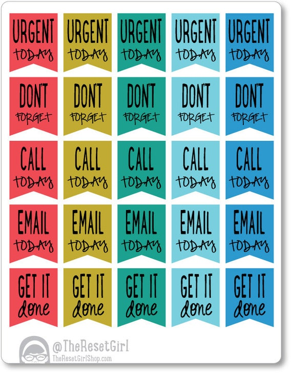 Calendar Planner Reminder Stickers : Unavailable listing on etsy