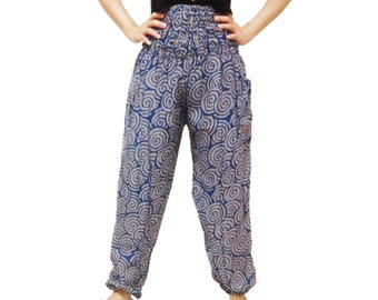 Wave Strips Comfy Yoga Pants Wide Leg Pants (YG01-10)