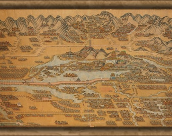 24x36 Poster; Map Of Beijing China 1890