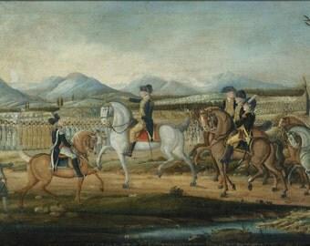 24x36 Poster; Whiskey Rebellion George Washington