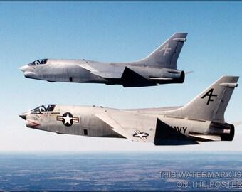 24x36 Poster; F-8 Crusader