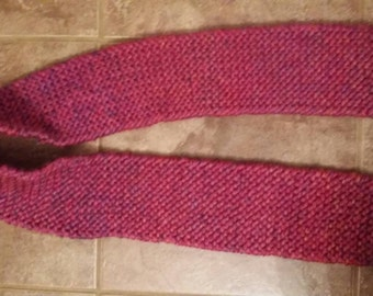 Pink Speckled Warm Winter Scarf