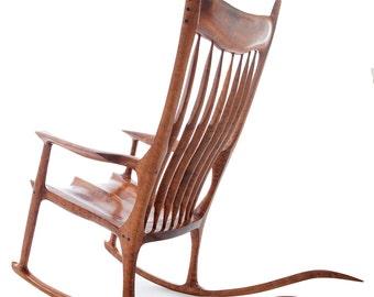 Maloof Style Rocking Chair