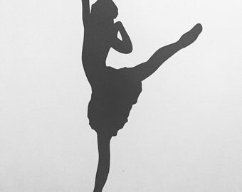 Dancing Ballerina Wall Decal/Indoor/Removavle/Decor/Matte