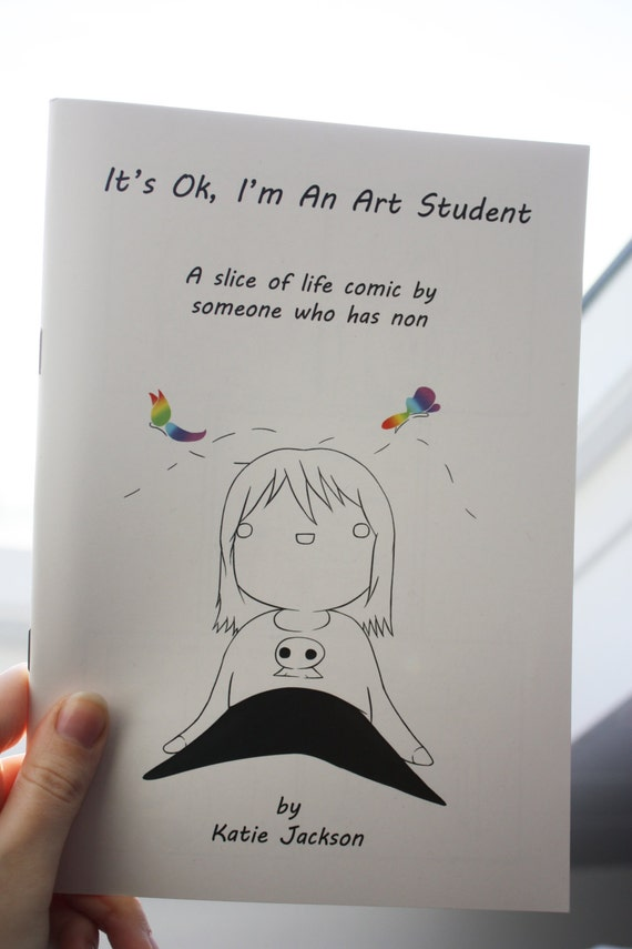 It's Ok, I'm an Art Student - Booklet