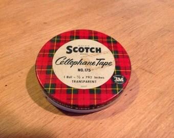 Scotch Cellophane Tap Tin