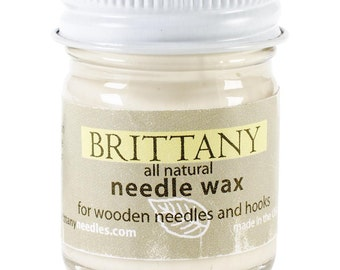 Brittany Needle Wax for Knitting Needles & Crochet Hooks 1oz