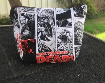 Walking Dead Zipper Pouch
