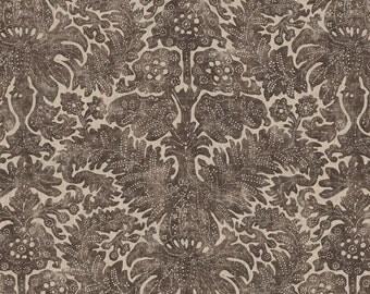 RALPH LAUREN Antibes BATIK Linen Fabric 10 Yards Brown Beige