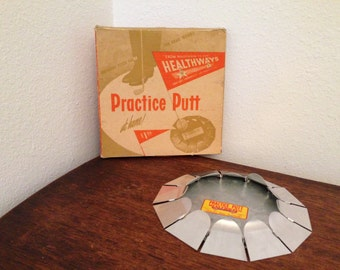 Practice Putt by Healthways Vintage Indoor Golf Putting Practice Hole