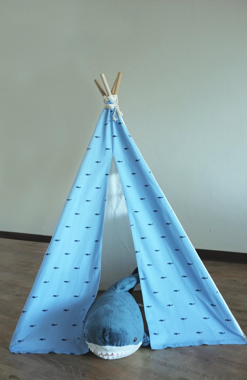 Blue Whale Teepee For Kids