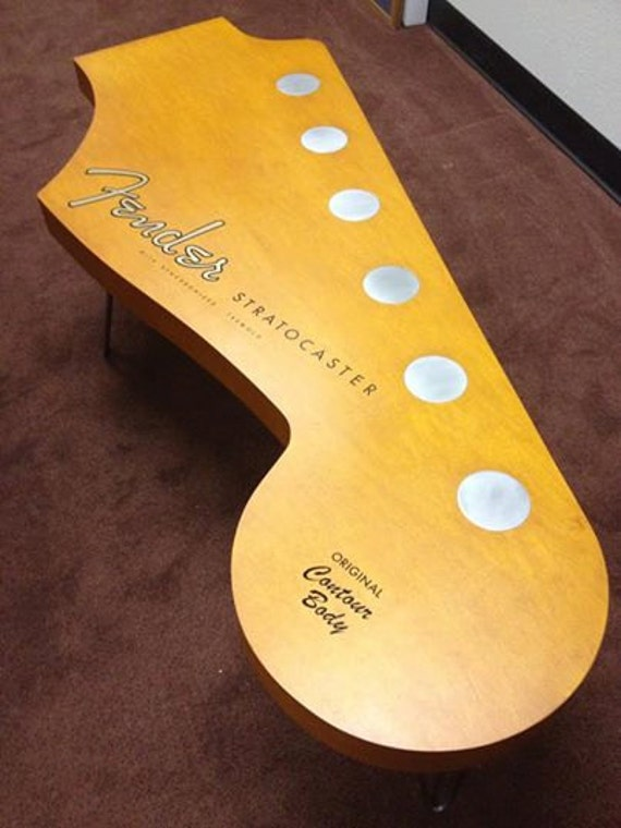 Guitar Coffee Table