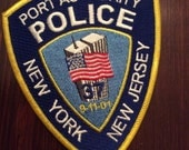 Port Authority Police Patch commemorative 9-11 wtc Brand New Craft Patch
