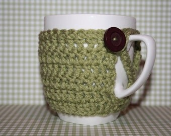 Light Green Mug Cosy