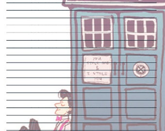 Doctor Who Stationary