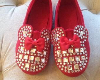 Minnie Mouse shoe