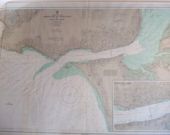 Portugal - West Coast, Tagus River and Porto de Lisboa Nautical Chart
