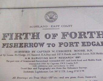 Scotland, East Coast - Firth of Forth, Fisherrow to Port Edgar - Nautical Chart, 4577