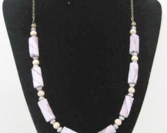 Handmade Lavender Necklace