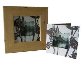 Card & Frame Set