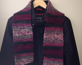 Knit scarflette - multicolor