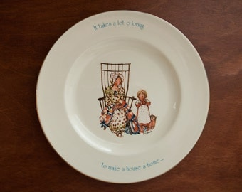 GOING, GOING, GONE Sale!** Holly Hobbie - Freedom Series Collector's Plate