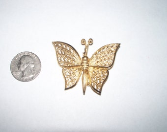 Butterfly Pin with Movable Wings(57)