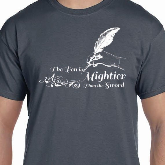 the pen is mightier than sword 2 essay The pen is mightier than the sword essay - 809 words  the pen is mightier than the sword' 'the pen is mightier than the sword' is a metonymic phrase meaning communication, thoughts and writing.