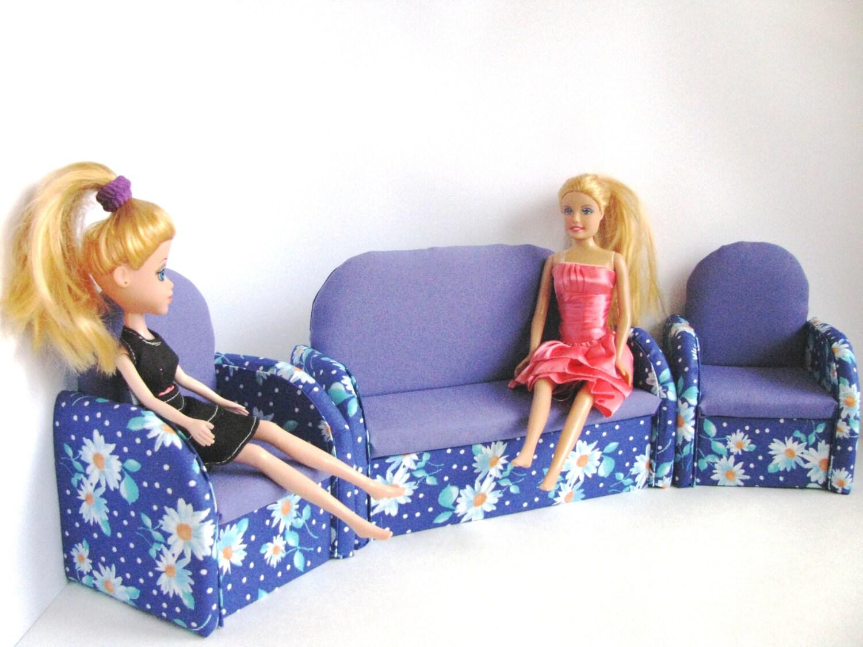 12 inch doll furniture upholstered doll by evgeniyandalla