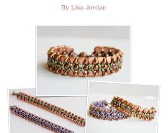 Treasure Island Bracelet Pattern By Lisa Jordan, Starman TrendSetter