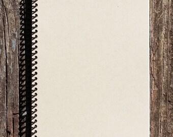 Kraft Journal - Kraft Notebook - Recycled Notebook - Spiral Notebook - College Notebook - Memory Book - Diary