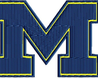 Download University Of Michigan Embroidered Patch Free