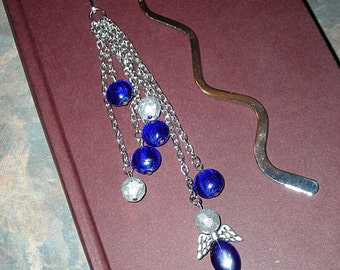 Blue angel bookmark
