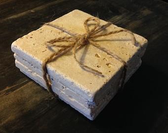 Natural Tumbled Stone Tile Set