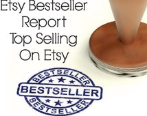 Top Selling Items On Etsy Bestseller Report 2015