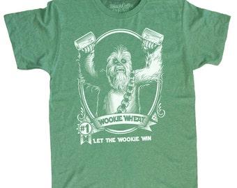 Saint Patrick's Day Star Wars Shirt Men's T-Shirt Chewbacca Wookiee Chewie