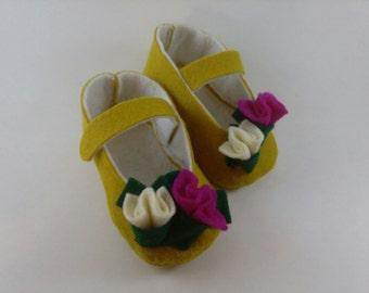 Paris Garden Baby Shoes