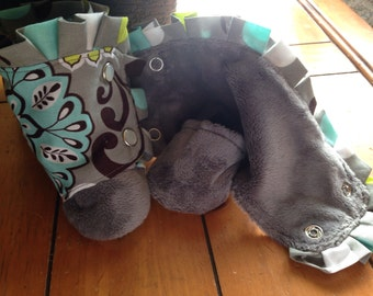 0-3 month infant booties