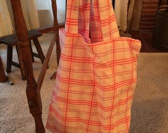 Reusable reversible Tote Bag