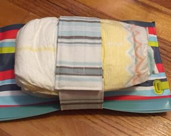 75% off-Blue Diaper Strap
