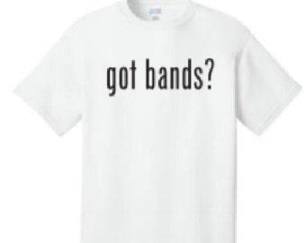 got bands tshirts