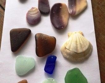 Drilled Beach Glass/Shells Driiling Sea Glass Service Custom sea glass drilling