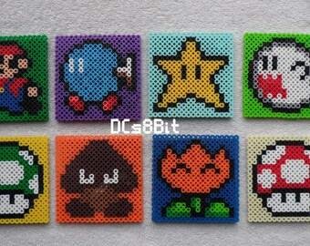 Mario Perler Coasters