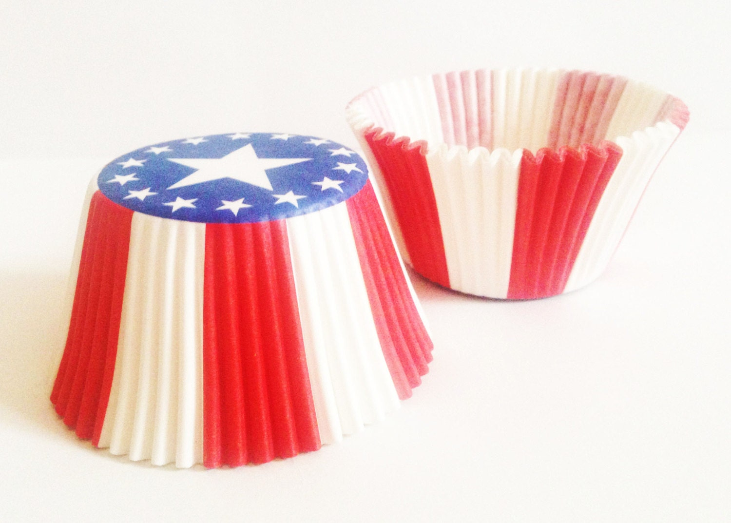 Stars And Stripes Cake Cases