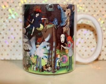 Studio Ghibli Mug Characters, totoro tea/coffe Cup Mug