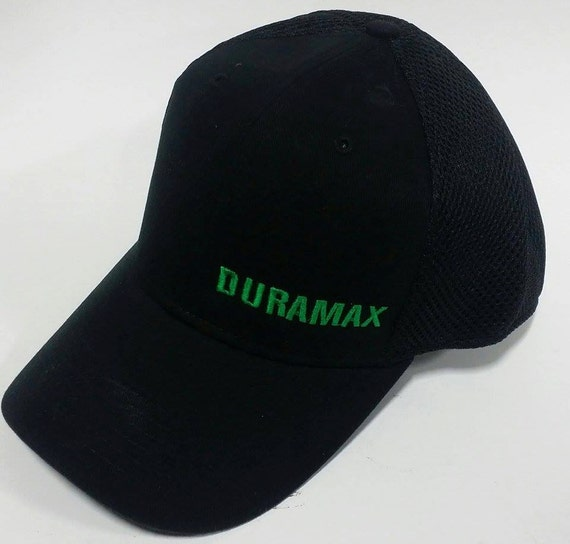 Duramax Black Fitted Hat By Schreyeroutfitters On Etsy
